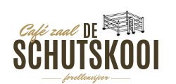 Café zaal de Schutskooi Logo